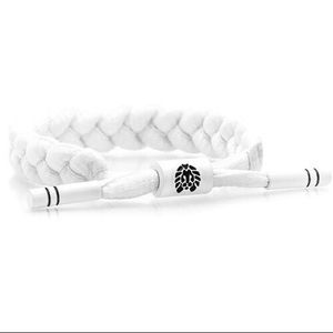 Rastaclat white adjustable bracelet
